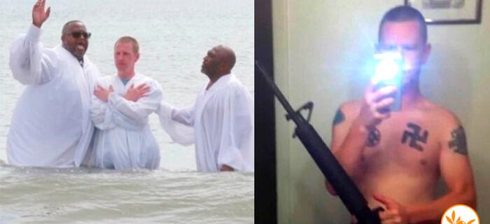 El ex miembro del Ku Klux Klan se entrega a Cristo y se bautiza