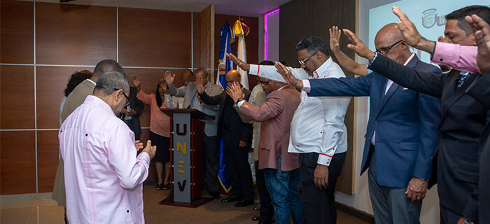 UNEV inicia gestión 2018-2021 con Culto de Presentación al Señor
