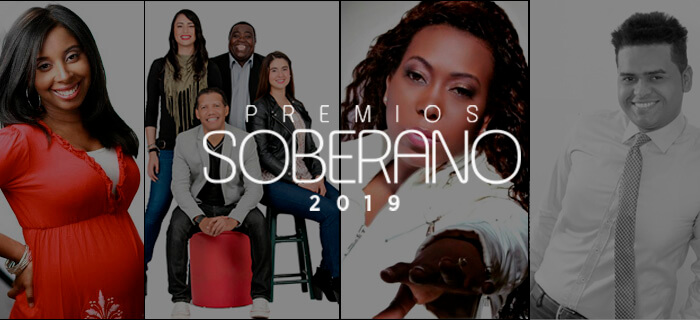 Lista de nominados a Música Religiosa en Premios Soberano 2019