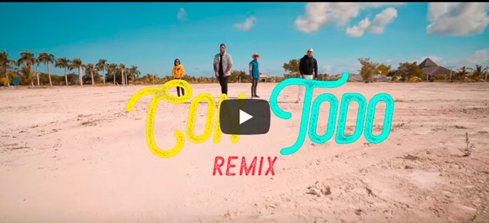 Jeiby Ft Musiko, Lizzy Parra, Alex Linares – Con Todo Remix  (Vídeo Oficial)