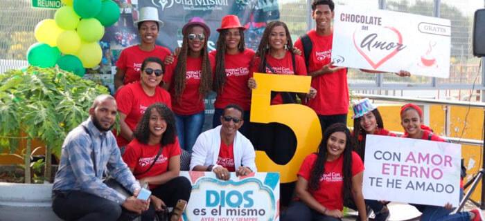 JUCUM celebra 5 años con El Chocolate de Amor