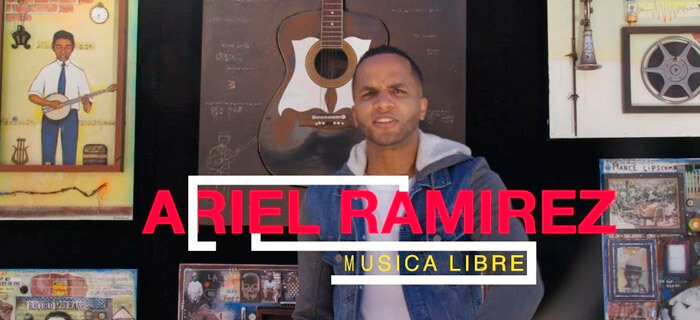 ESTRENO: Ariel Ramirez – Musica Libre (Freestyle)