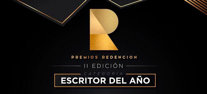 """Premios Redención nomina al Hermano Pedro Luis en la Categoría de Escritor del año por su libro """"Tiempos de Victoria"""""""