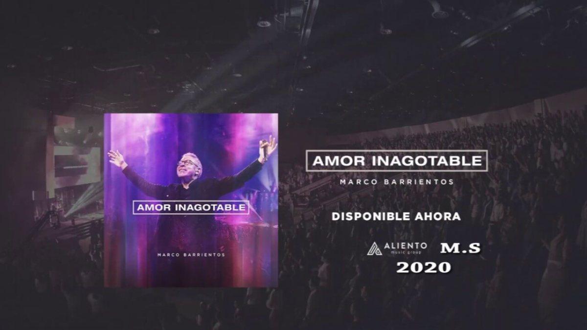 """Marcos Barrientos lanza nuevo álbum """"Amor inagotable (en vivo)"""""""