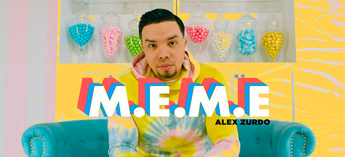 VIDEO OFICIAL: Alex Zurdo – M.E.M.E