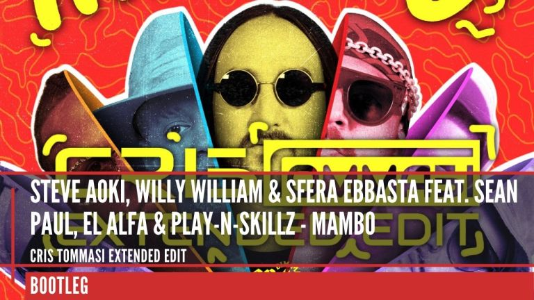 Steve Aoki, Willy William & Sfera Ebbasta feat. Sean Paul, El Alfa & Play-N-Skillz - Mambo (Cris Tommasi Extended Edit)