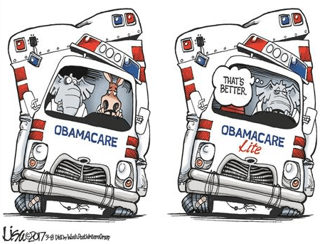 Image result for obamacare lite