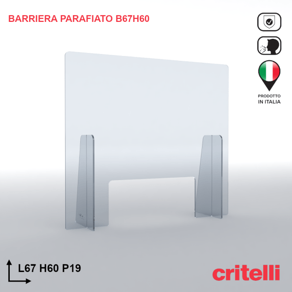 Barriera parafiato BAR67H60S3