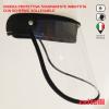 visiera protettiva antipolvere protezione alta protezione antispruzzo