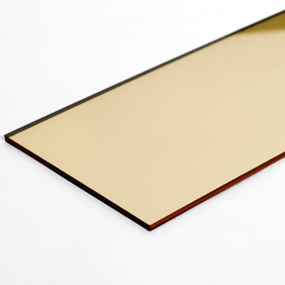 Abs oro lucido supporto nero