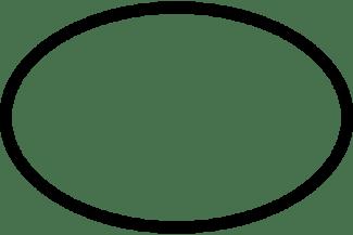 sagoma ovale