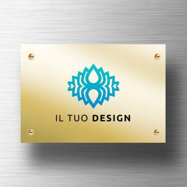 targa-personalizzata-in-alluminio-oro-lucido
