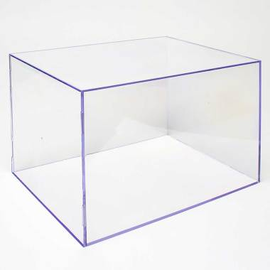 Teca trasparente da esposizione su misura