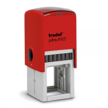 Timbro Autoinchiostrante a 6 righe Rosso 30x30mm Trodat Printy 4923