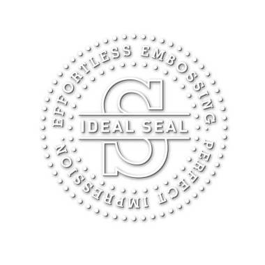 TRODAT TRODAT IDEAL SEAL 51 Timbro a secco con incisione laser diametro 51 mm