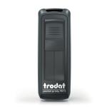 Timbro autoinchiostrante tascabila da viaggio trodat pocket printy 9511 nero