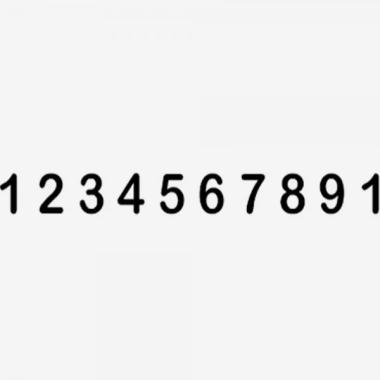 Trodat Classic 151810 Timbro Numeratore 10 colonne 18 mm