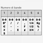Trodat Classic 1536 Timbro Numeratore 6 colonne 3 mm