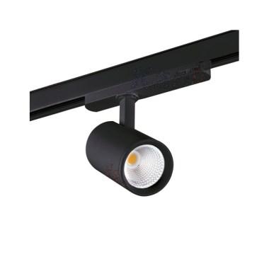 faretto-led-18w-1700lm-60d-per-binario-alluminio-nero