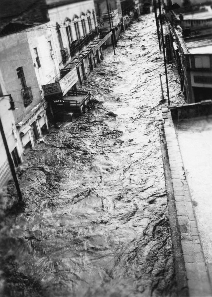 En 1949, murieron 55 ahogados en lodo en Pachuca