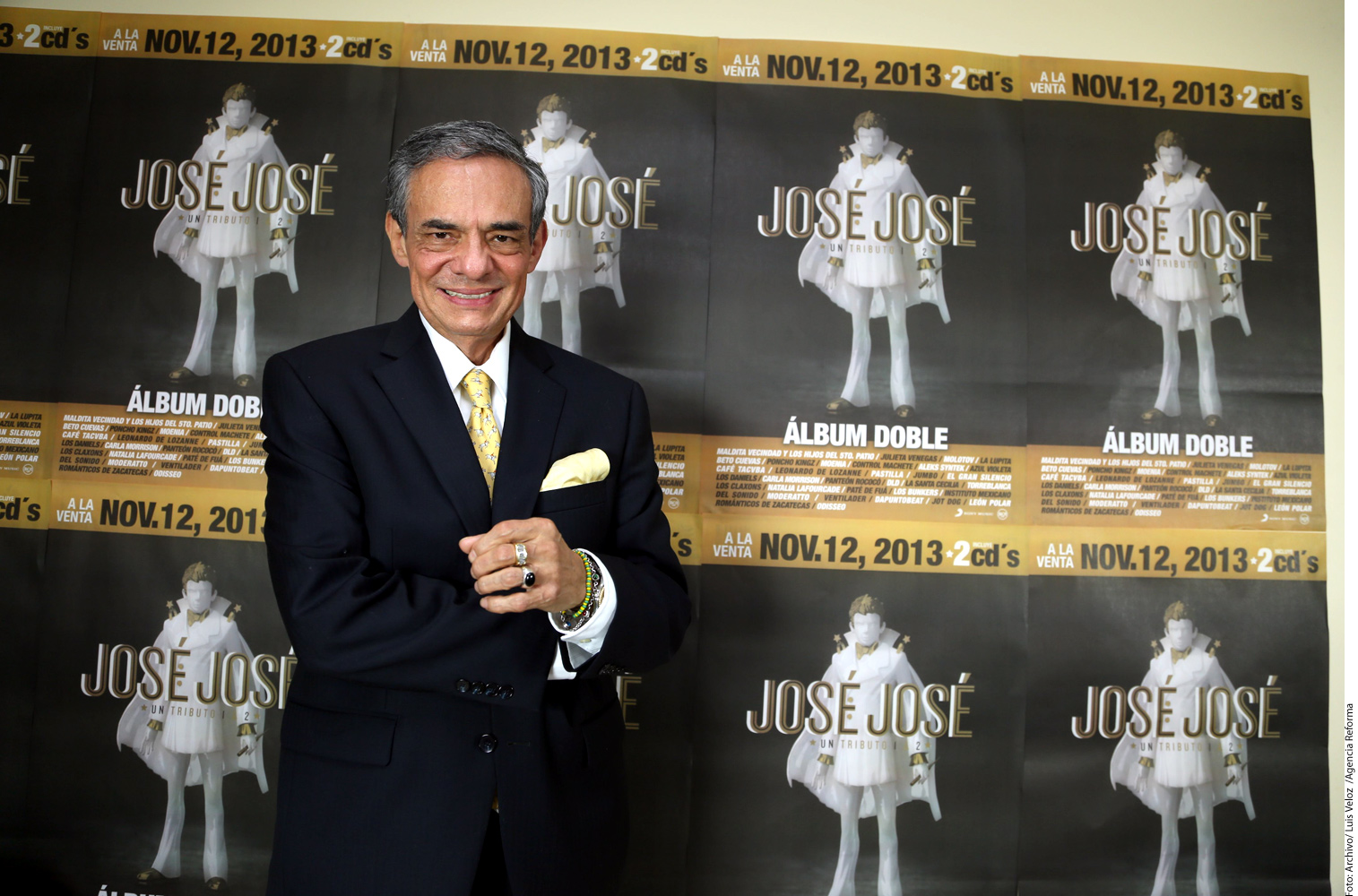 José José calma la incertidumbre sobre su salud