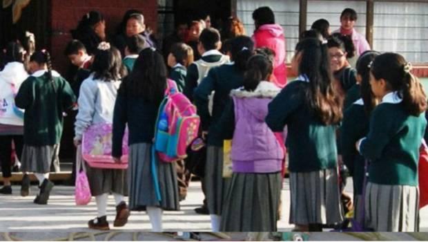 Por helada, extienden suspensión de clases en Hidalgo