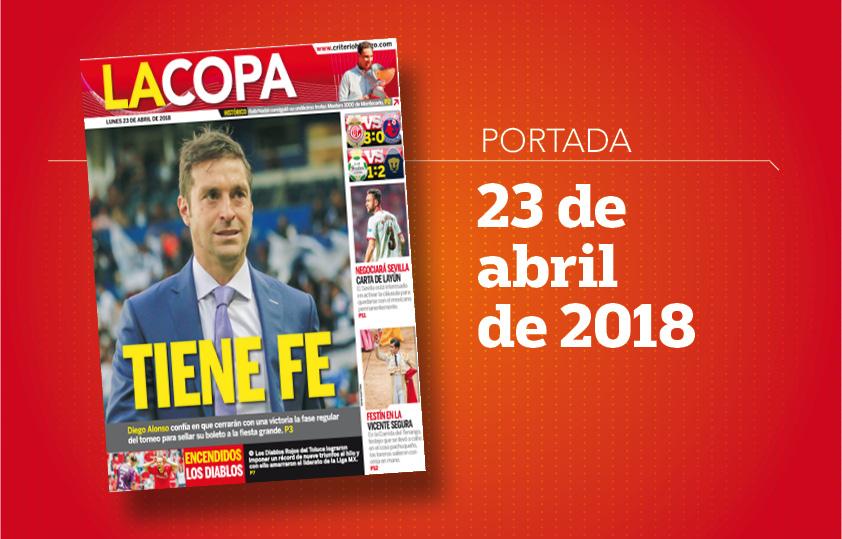 Portada La Copa 23 abril de 2018