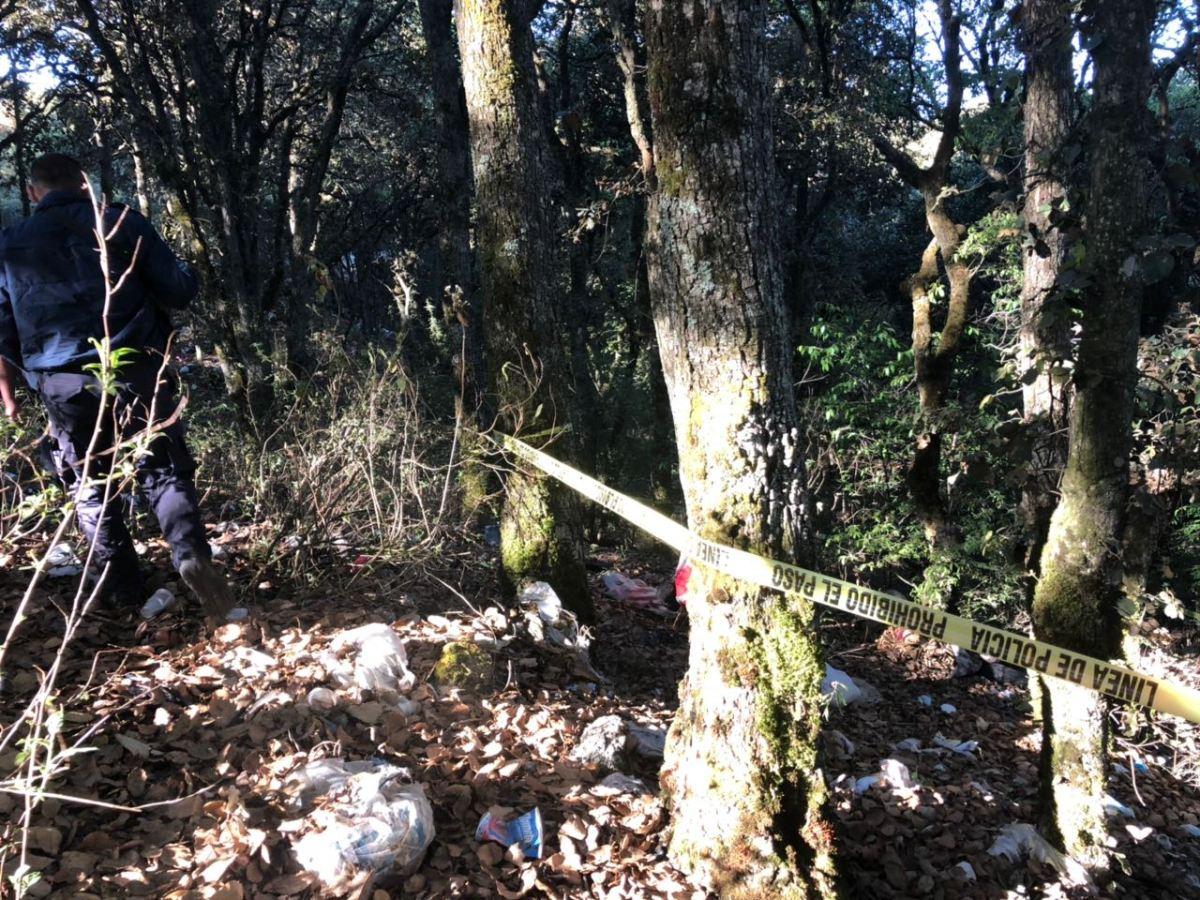 Encuentran el cadáver de una mujer en Mineral del Chico