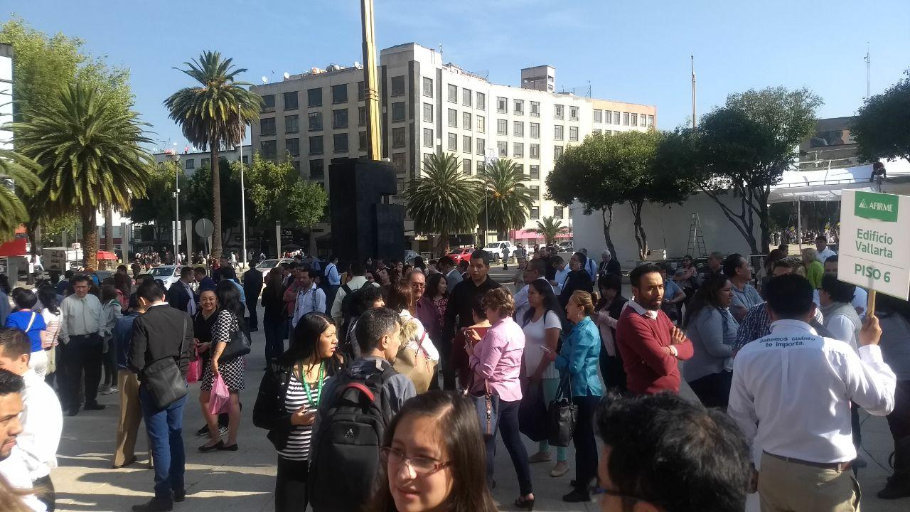 Se registra sismo en la Ciudad de México; 5.3 grados preliminar