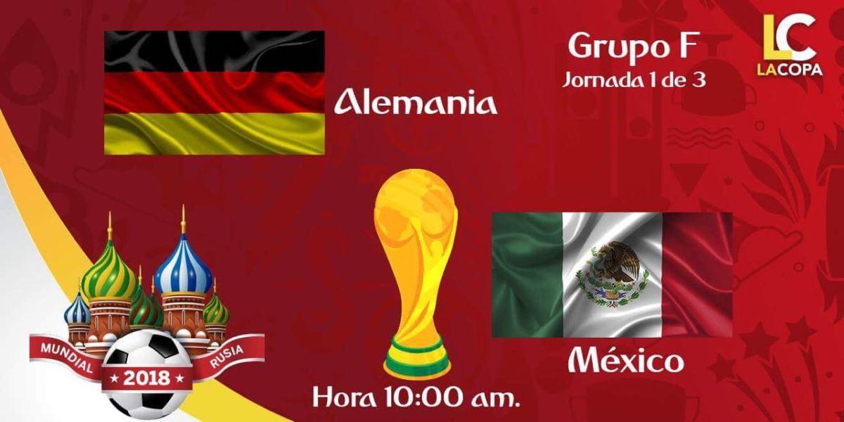 Links para ver el juego México vs Alemania