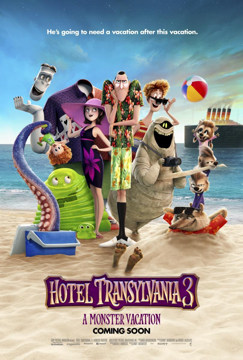 Image result for hotel transylvania 3 poster