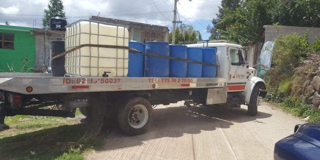 PGR Hialgo regresa 100 mil litros de combustible