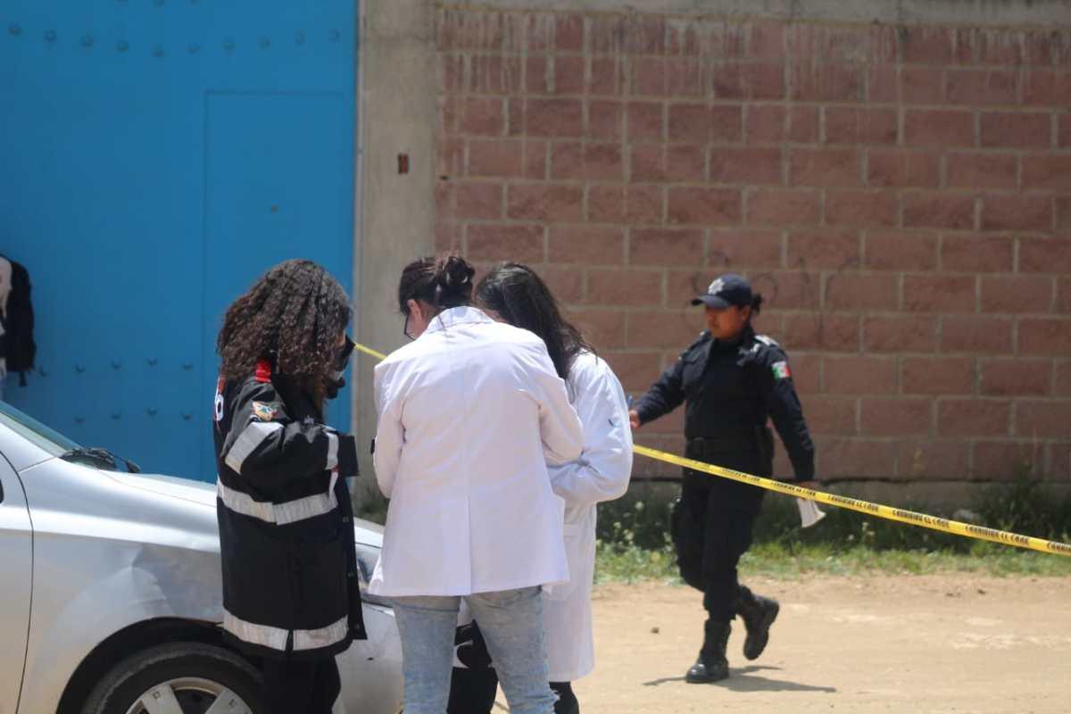 Localizan partes humanas de dos cuerpos en un tambo, en Pachuca