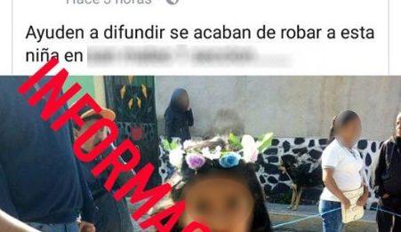 Continúan falsos rumores de robachicos en Hidalgo (VIDEO)