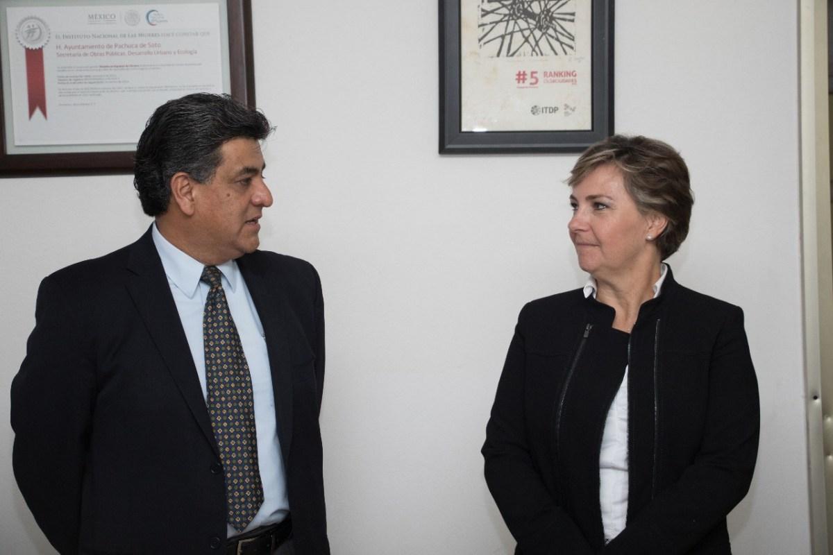 Mario Edmundo Bautista es el nuevo secretario de Obras Públicas de Pachuca