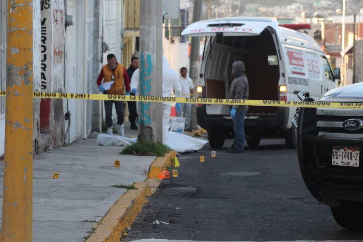 Localizan una persona muerta en la colonia Morelos de Pachuca