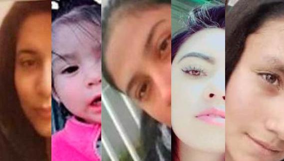 Continúan cinco mujeres desaparecidas en Hidalgo