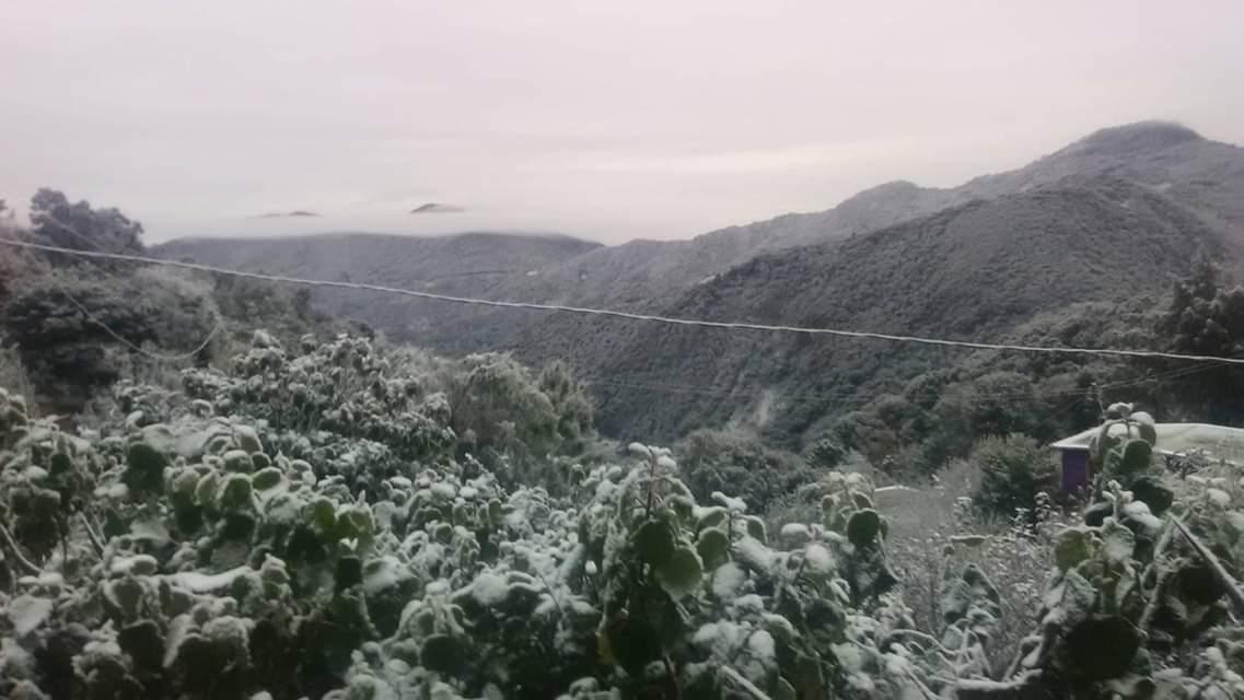 Seguirá tiempo invernal en Hidalgo por otras 24 horas; alertan posibles nevadas