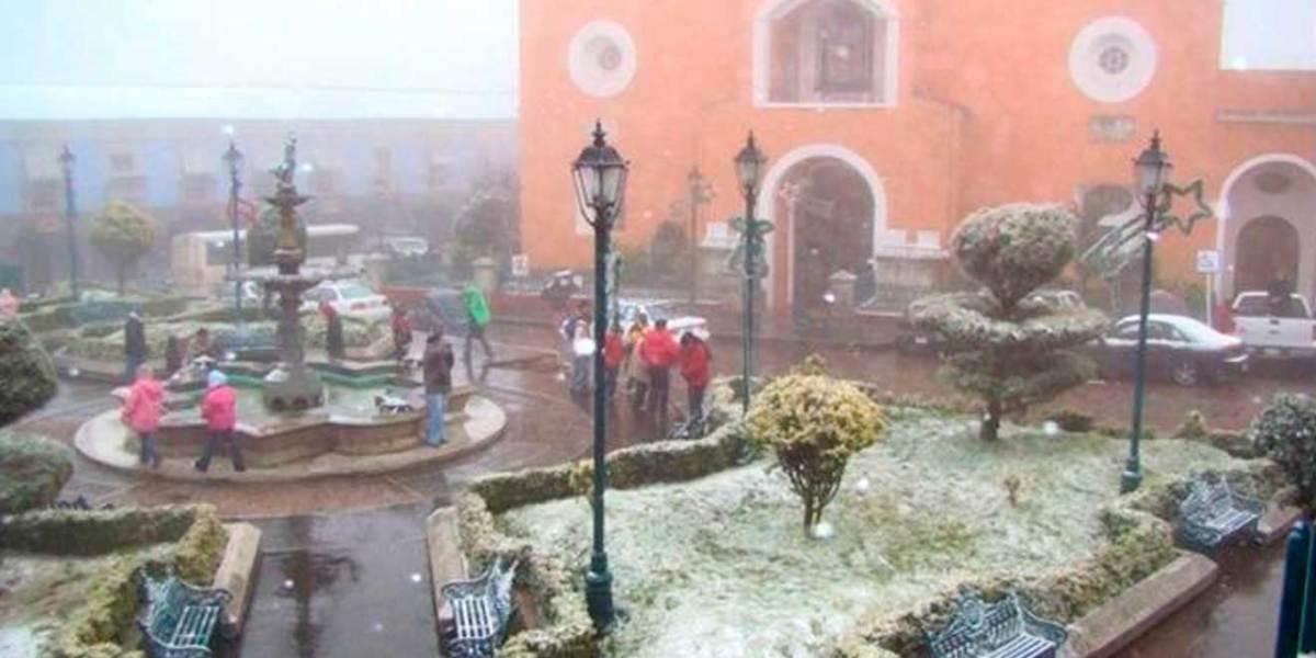 Onda gélida entrará a Hidalgo en las próximas horas, ¡podría haber nieve!