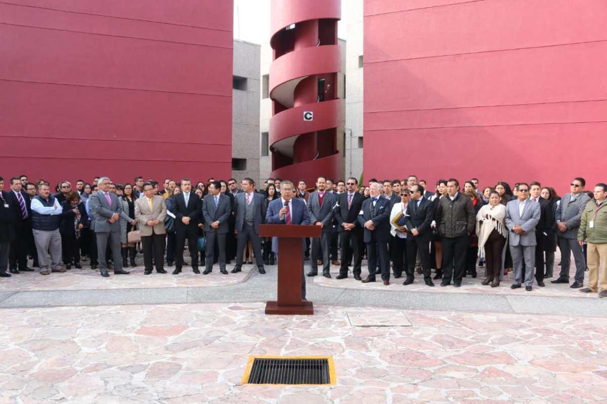 Juzgadores del Poder Judicial en Hidalgo se pronuncian en contra de la Ley de Remuneraciones