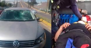 Atienden a una persona atropellada en el bulevar Colosio de Pachuca