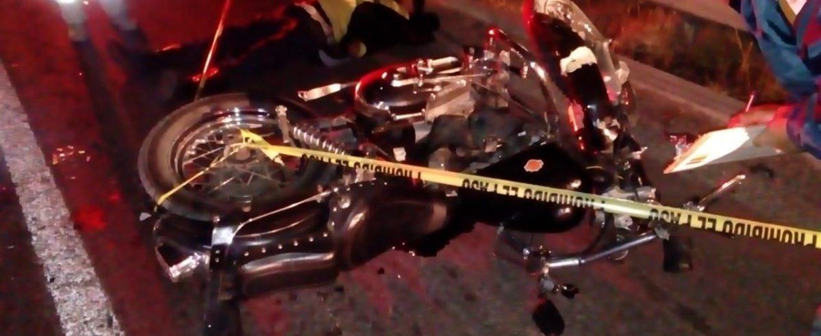 Muere un motociclista en la Pachuca-Sahagún