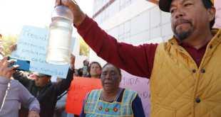 Piden a gobierno estatal intervenga en contaminación de agua en Santa María Nativitas Foto: Óscar Sánchez