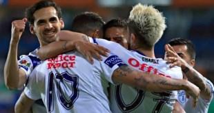 Tuzos vencen 3-0 a Querétaro en el Hidalgo