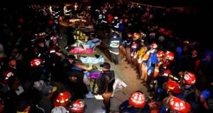 Aumentan a 19 los muertos por embestida de camión en Guatemala