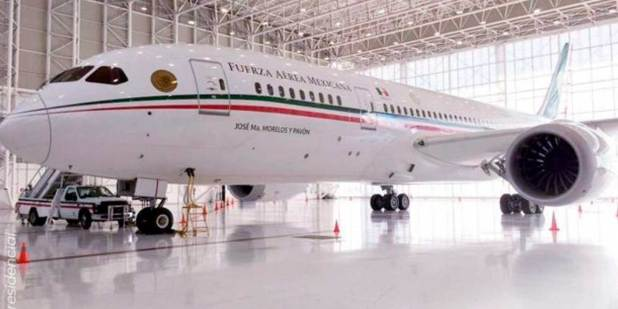 Reciben 14 ofertas por avión presidencial