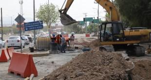 Distribuidor vial en Colosio funcionará hasta 2020: Sopot
