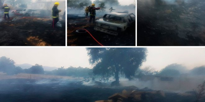 Mineral de la Reforma: tres incendios en 2 días