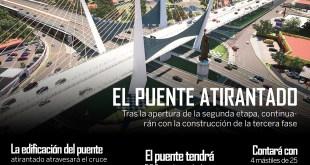 Comienzan los trabajos del puente atirantado en Pachuca