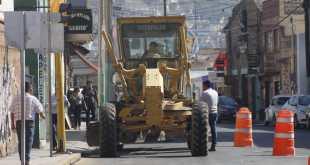 Comienza rehabilitación de la calle Abasolo en el Centro de Pachuca